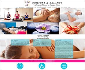 comfort and balance